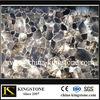nature semi precious gem stone grey quartz