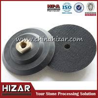 Plastic Backing Pad with Velcro for Polishing/diamond polishing pad backer