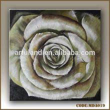 Golden rose oil painting