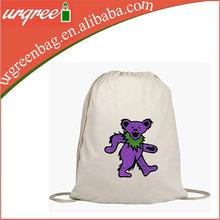 Children Cute Cotton Drawstring Backpack