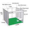 3x3 Aluminium Modular Shell Scheme Standard For System