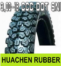 Best selling motorcycle tyre 3.00-18 in Nepal highly qualified ISO 9001,DOT