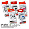 Original&Genuine format ink Cartridge for Canon PFI102 with 130ml from China