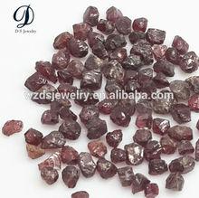 China high quality natural rough garnet stone