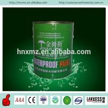 30 years factory bitumen PU water based green waterproof coating damp proof course