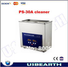High quality !!!new ultrasonic cleaning machine 6.5L PS-30A, ultrasonic cleaner, cleaner machine, ultrasonic denture cleaner