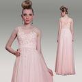dorsqueen 2014 nova chegada dropship laço frisado plus size longo comprimento do assoalho rosa vestido de baile vestidos das mulheres grávidas