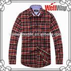 2014 100% Cotton Flannel Export Surplus Branded Garments