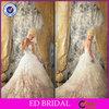 OEM Service Beautiful Pakistani Wedding Dresses Strapless Sweetheart Ruffled Beaded ED-YH557