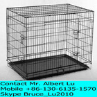 "48"" Pet Folding Kennel Crate"