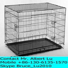 "48"" Pet Folding Kennel Crate"
