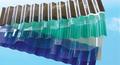 100% markrolon uv recubiertos toldos y marquesinas y toldos de anti- niebla corrugado resistencia al impacto verde hoja de policarbonato transparente