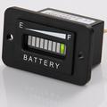 carga de la batería indicador 12v 24v 36v 48v 72v para el coche de golf carrito del coche de la motocicleta de alta calidad
