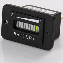 Battery charge Indicator 12V 24V 36V 48V 72V for car golf cart car motorcycle high quality