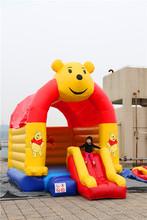 inflatable cute bear moving cartoon