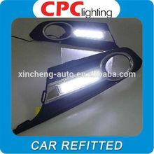 LED DRL for 2012 Volkswagen VW Jetta Sagitar LED DRL Daytime Running Light