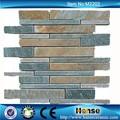 m2202 300x300mm arabesque marbre naturel mosaïque murale feuille de panneaux