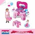 La vente directe d'usine fille. jouets commode avec miroir jouets pour fille