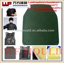 Oem Kevlar a prueba de balas chaleco de compresión del molde / Kevlar body armor placas de fabricación de moldes