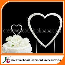 heart wedding cake topper, wedding heart shaped cake topper, heart shape cake toppers