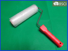 PLASTIC SPIKED ROLLER WITH PLASTIC HANDLE