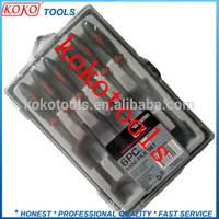 plastic case packing needle steel file set tool box
