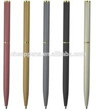 short metal promotional ball point pen