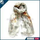 National style INK wash painting acrylic women pashmina scarf
