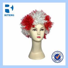 crazy fan wig party wigs funny sports fan wig