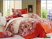 2015 latest print design wholesale bed sheet