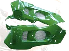 motorcycle plastic side cover ( short) of XRM110 for ax100 cg125 ATV mini bike for Philipine market