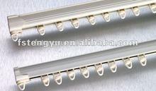 alumínio flexível trilho de cortina