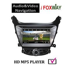 In dash 8'' DVD GPS for 2014 Hyundai Elantra Car Radio Navigation