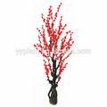 0526 artificial flor del ciruelo flor gigante de flores artificiales del árbol de melocotón