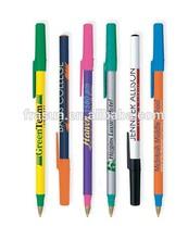 bic slogan ball pen/blue bic pens/bic yellow pen