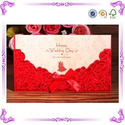 alibaba china wholesale 3d wedding invitation card