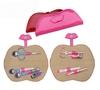 Deft Design & Nice manicure set pedicure kit in red&pink colour case