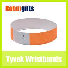 Promotional tyvek wristband