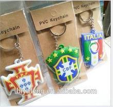 The 2014 World Cup souvenir shirt magnetic disco soccer ball key chain