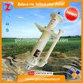 famoso chino de alta velocidad de flujo vertical de la bomba de hormigón