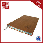 Chinese manufacturer customized Pu cover diary notebooks for school
