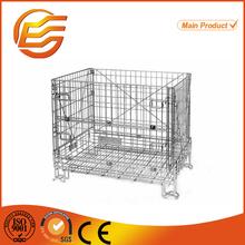 Cage de treillis métallique de zinc placage empilables. rigide. metal cage de treillis métallique