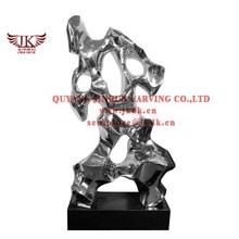 stainless steel art sculpture decorative statues