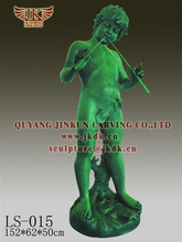 QUYANG JINKUN CARVING Height 140CM child character bronze statue