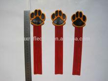 EN13356 promotional reflective PVC snap band