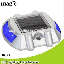Solar powered waterproof solar constant led night light