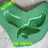 silicone rubber for plaster decorative cornice molding F25