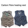 La costumbre de calefacción eléctrica chaquetas de abrigo/ropa barata de invierno/chaleco de los hombres