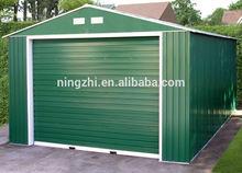 prefab metal garage storage /steel frame shed/steel warehouse