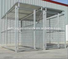 Metal Large Steel Dog Kennel/Large Steel Dog Cage(Factory&ISO9001)